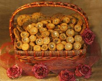 BASKET 6 - $175.00 - COOKIES FOR 30-35