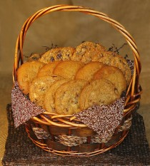 BASKET 3 COOKIES FOR 10-15